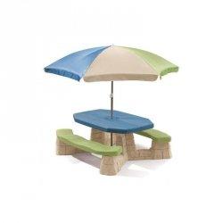 STEP2 Stół Piknikowy z Parasolem