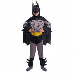 Strój Batman Kostium Człowiek Nietoperz Maska Pas  Peleryna dla dziecka 110-116cm