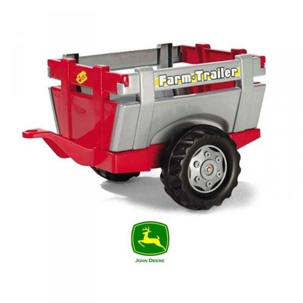 Rolly Toys rollyTrailer Przyczepa do traktora Otwiane Burty