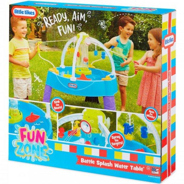 Little Tikes Stół Wodny Bitwa na wodę Fun Zone Battle Splash