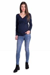 Bluzka ciążowa i do karmienia dresowa 4010
