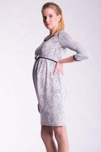 Sukienka ciążowa z kokardą 2528