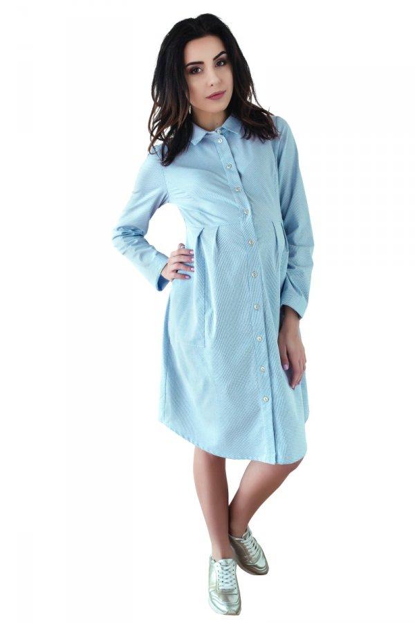 sukienka ciążowa koszulowa