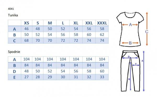 Piżama ciązowa i do karmienia 4041