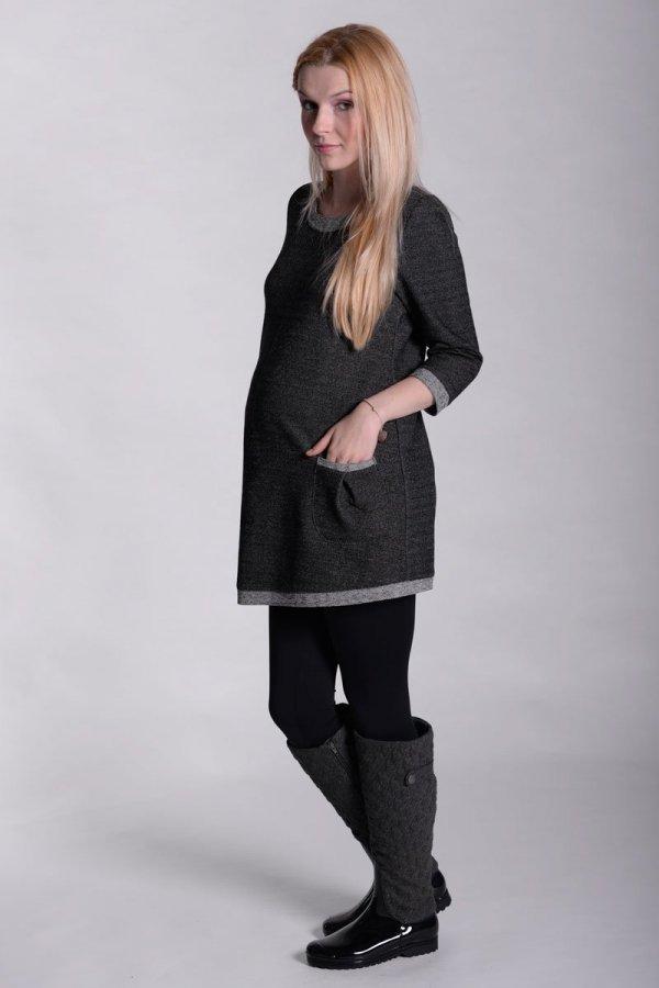 Sukienka ciążowa tunika dresowa 2351