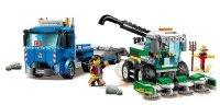 KOMBAJN CIĄGNIK CIĘŻARÓWKA KLOCKI LEGO CITY 60223