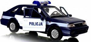 POLONEZ CARO PLUS POLICJA METALOWY MODEL KOLEKCJONERSKI 1:34 WELLY