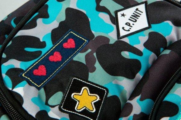 PLECAK COOLPACK CP CAMO BLUE BADGES 27L DART