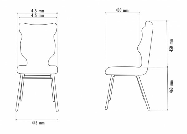 Krzesło SOLO Visto 07 rozmiar 6 wzrost 159-188  #R1