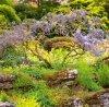 Kalendarz ścienny wieloplanszowy Gardens 2022 z naklejkami - sierpień 2022