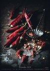 Kalendarz ścienny wieloplanszowy Food Art 2021 - exclusive edition - listopad 2021