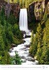 Kalendarz ścienny wieloplanszowy Waterfalls 2021 - wrzesień 2021