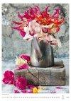 Kalendarz ścienny wieloplanszowy Magic Flowers 2021 - styczeń 2021