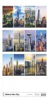 Kalendarz ścienny wieloplanszowy Above the  Cities 2021 - exclusive edition - tylna okładka