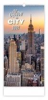 Kalendarz ścienny wieloplanszowy Above the  Cities 2021 - exclusive edition - okładka