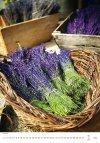 Kalendarz ścienny wieloplanszowy Provence 2021 - styczeń 2021