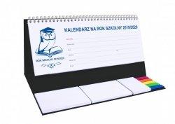 Kalendarz biurkowy EXCLUSIVE PLUS na rok szkolny 2019/2020 czarny