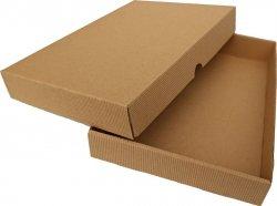 Pudełko ozdobne KARBOWANE na kalendarz formatu A5