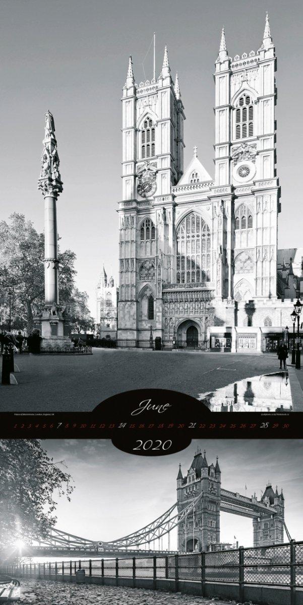 Kalendarz ścienny wieloplanszowy All About Cities 2020 - exclusive edition - czerwiec 2020