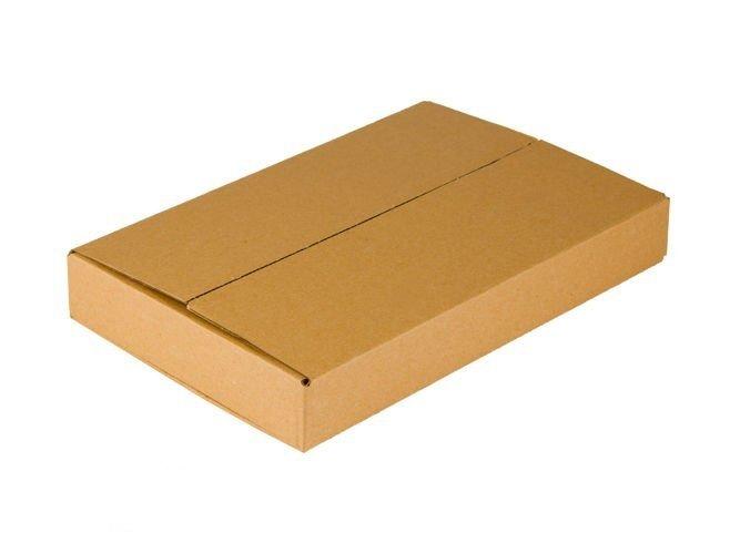 Opakowanie kartonowe o wym. 640 x 380 x 80 mm z tektury falistej 3-warstwowe InPost rozmiar A