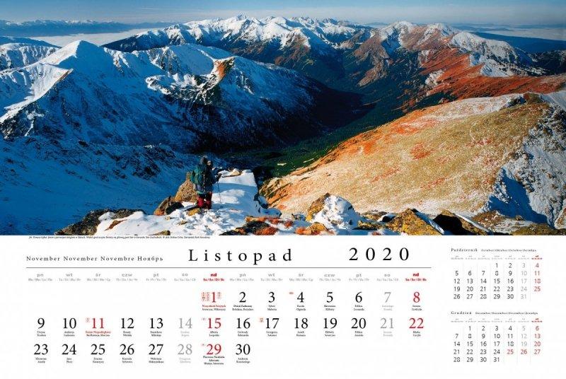 Tatry w panoramie 2020 - listopad 2020
