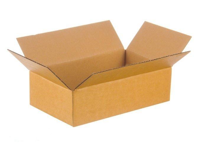 Karton klapowy o wym. 640 x 380 x 80 mm 3-warstwowy fala B  390g InPost rozmiar A 100 SZTUK