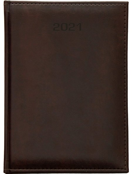 Kalendarz książkowy 2021 A6 tygodniowy oprawa Nebraska LUX