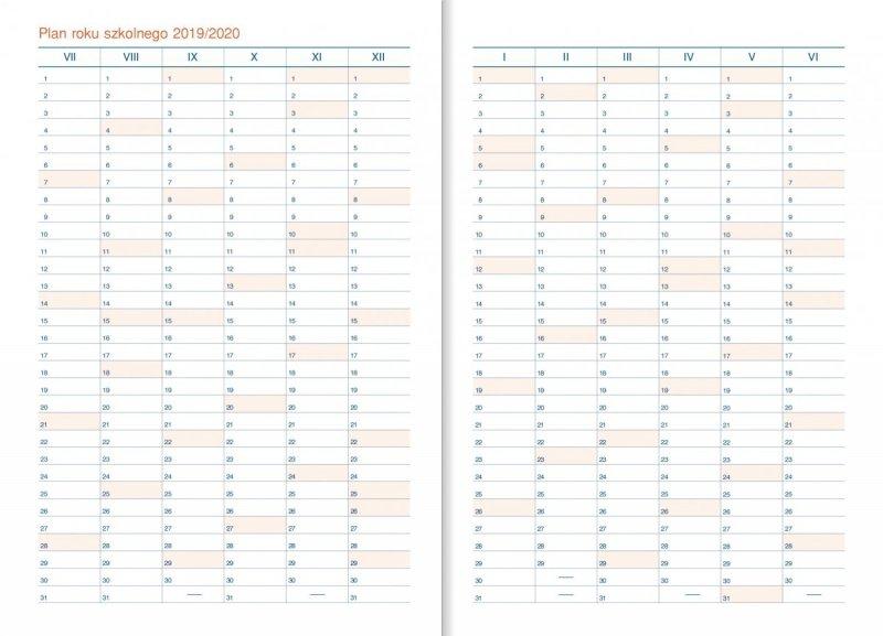 Kalendarz dyrektora - Plan roku szkolnego 2019/2020