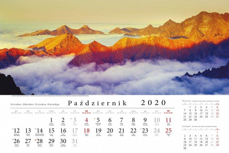 Tatry w panoramie 2020 - październik 2020
