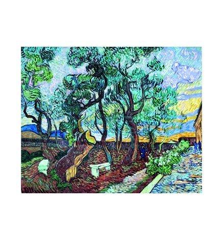 Kalendarz ścienny wieloplanszowy Vincent Van Gogh 2020 - październik 2020