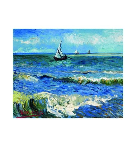 Kalendarz ścienny wieloplanszowy Vincent Van Gogh 2020 - lipiec 2020