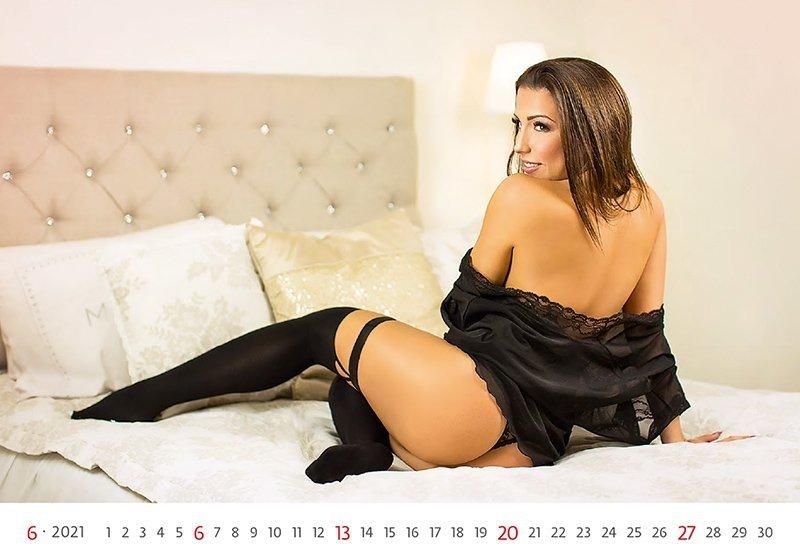 Kalendarz ścienny wieloplanszowy Flirt 2021 - czerwiec 2021