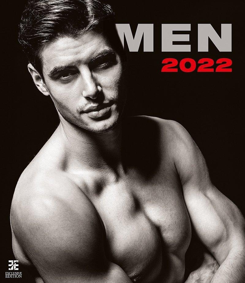 Kalendarz ścienny wieloplanszowy Men 2022 - exclusive edition - okładka