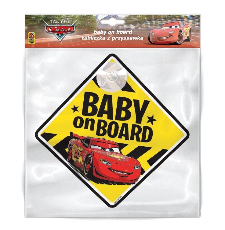 TABLICZKA BABY ON BOARD CARS