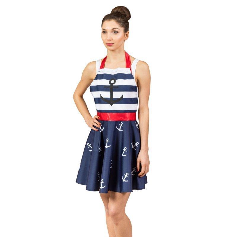 Nitly Marine - Fartuszek Sukienka
