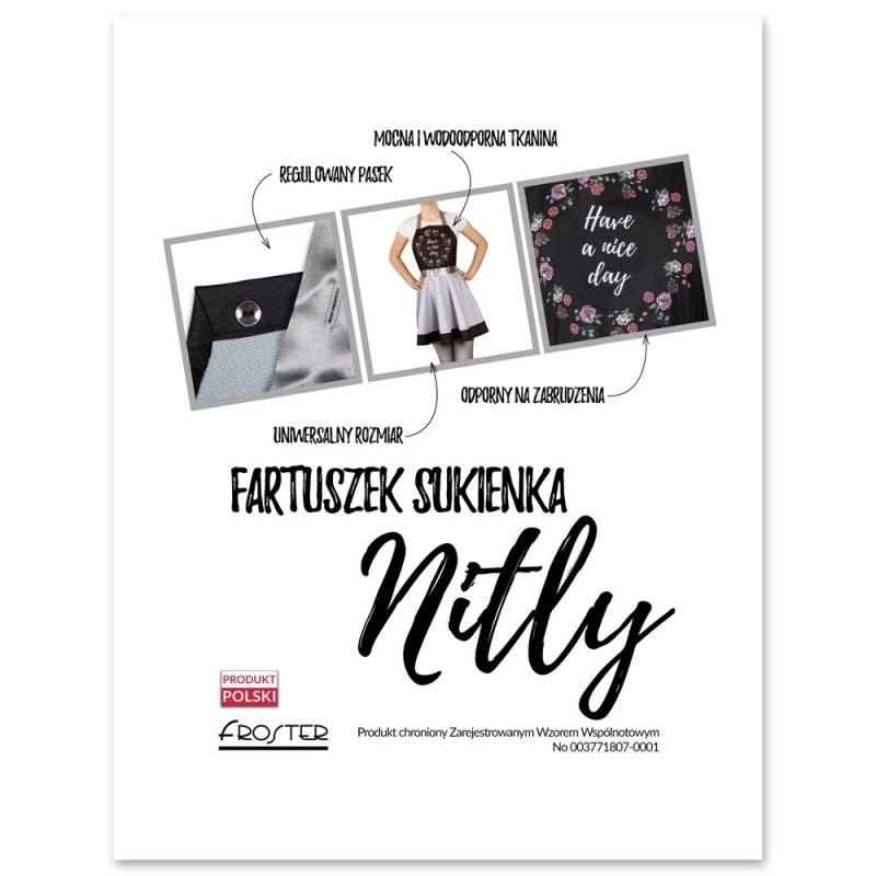 Nitly Nice - Fartuszek Sukienka
