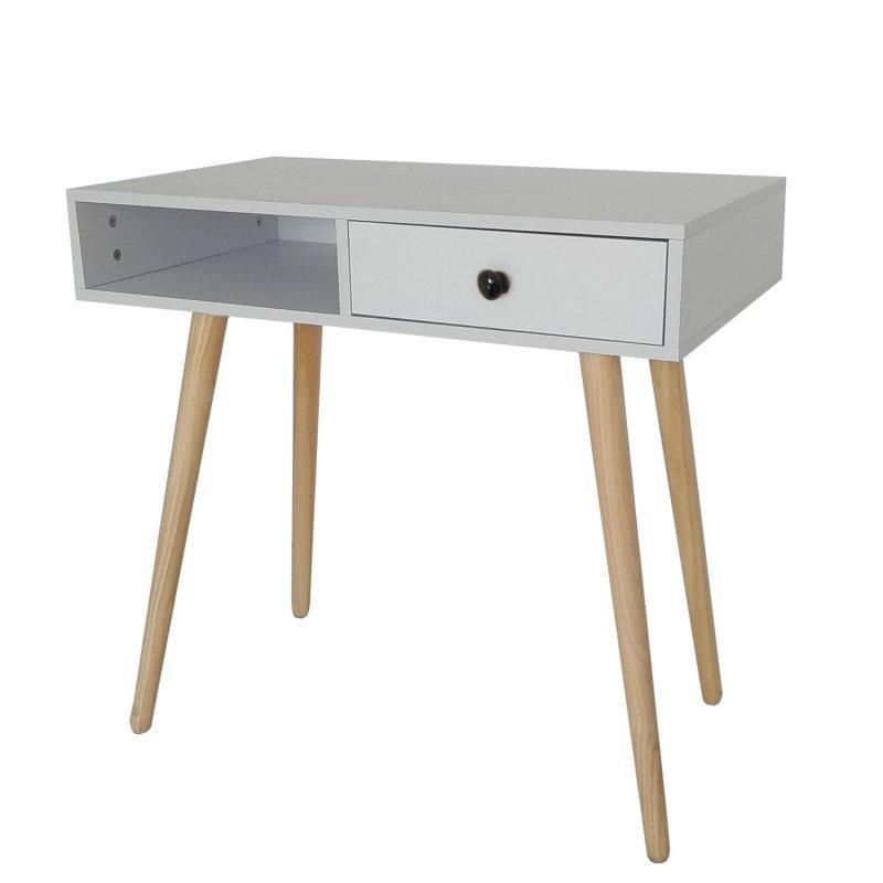 Biurko toaletka kosmetyczna konsola stół do salonu z szufladą