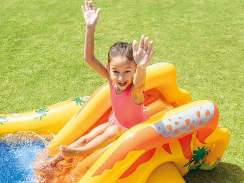 Wodny plac zabaw basen zjeżdżalnia intex 57444