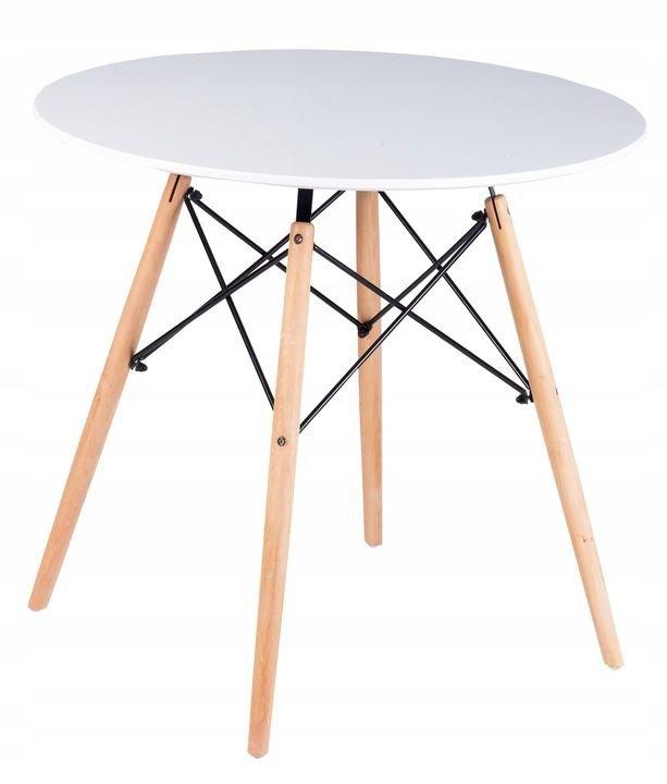 Stół stolik nowoczesny jadalni salonu kuchni 80cm