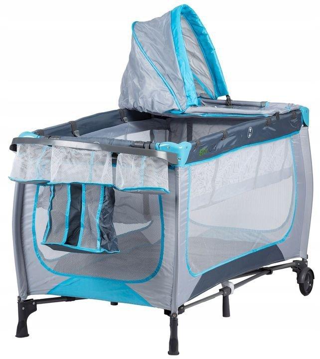 Łóżko łóżeczko turystyczne kojec przewijak Ecotoys