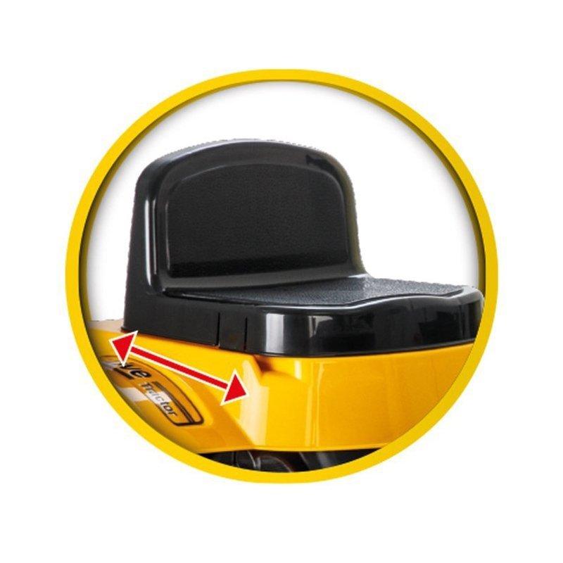 Ogromny Traktor Na Pedały Spychacz Żółty