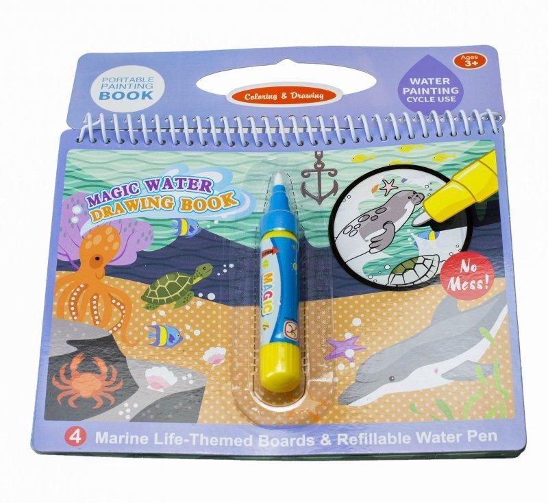 Książeczka-wodna-z-mazakiem-Podwodny-Świat-1