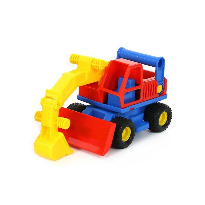 Wader QT Zestaw Pojazdów ConsTruck Wywrotka + Koparka