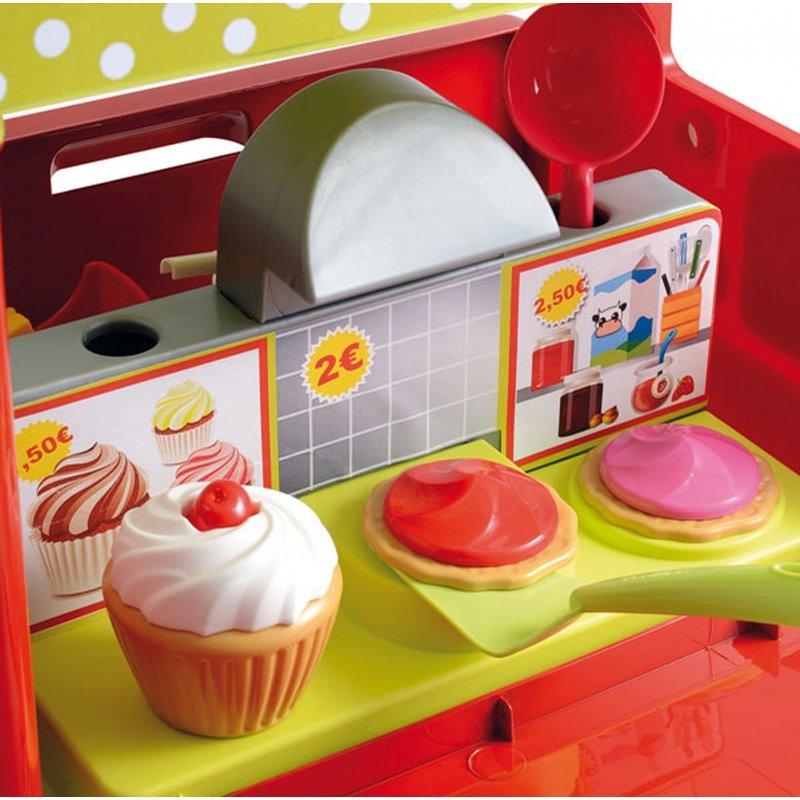 Ecoiffier Food Truck Kuchnia Sklep z Jedzeniem