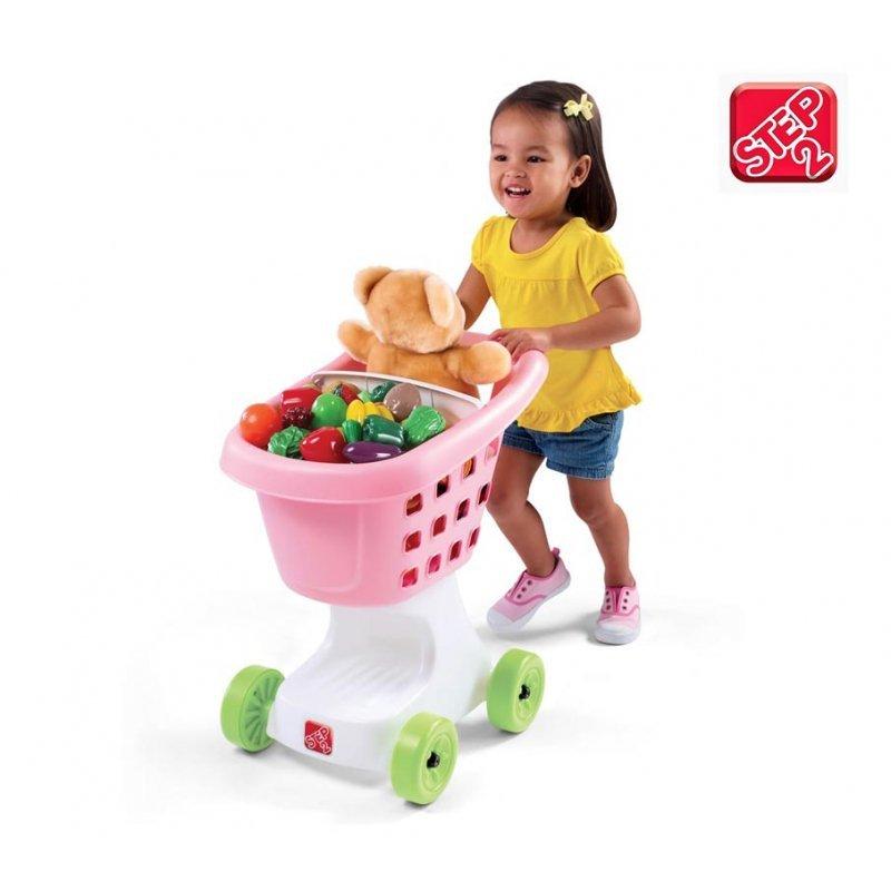 STEP2 Wózek na zakupy różowy