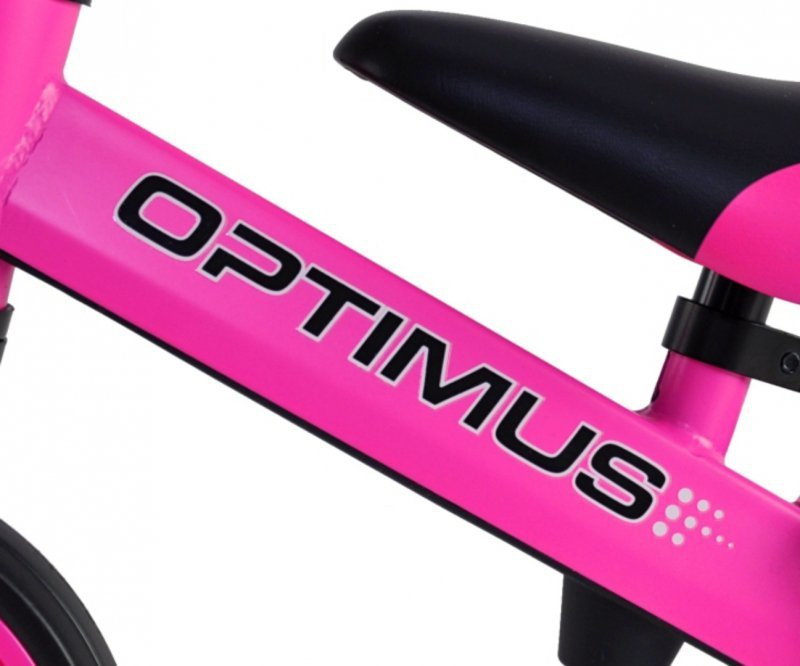 Milly Mally Rowerek 3w1 Optimus Pink