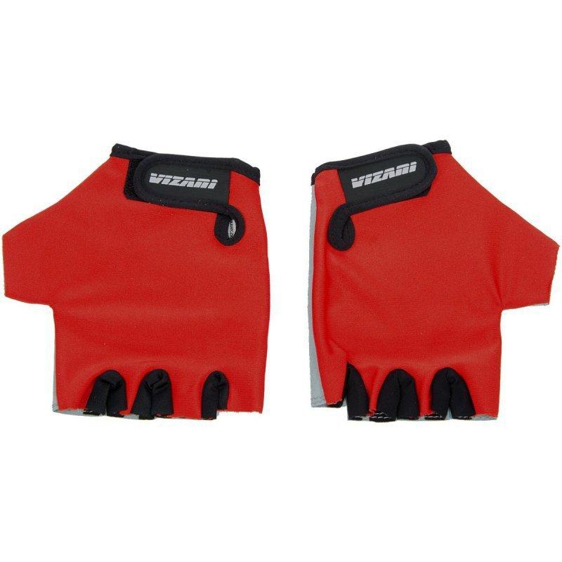 Rękawiczki Rowerowe Junior R.L CZERWONE