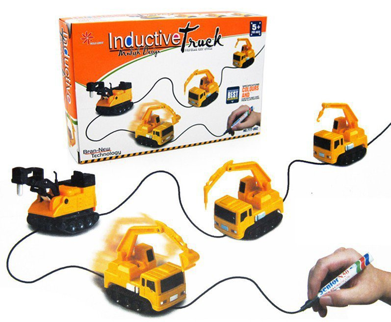 Pojazd Indukcyjny MAGIC INDUCTIVE CAR