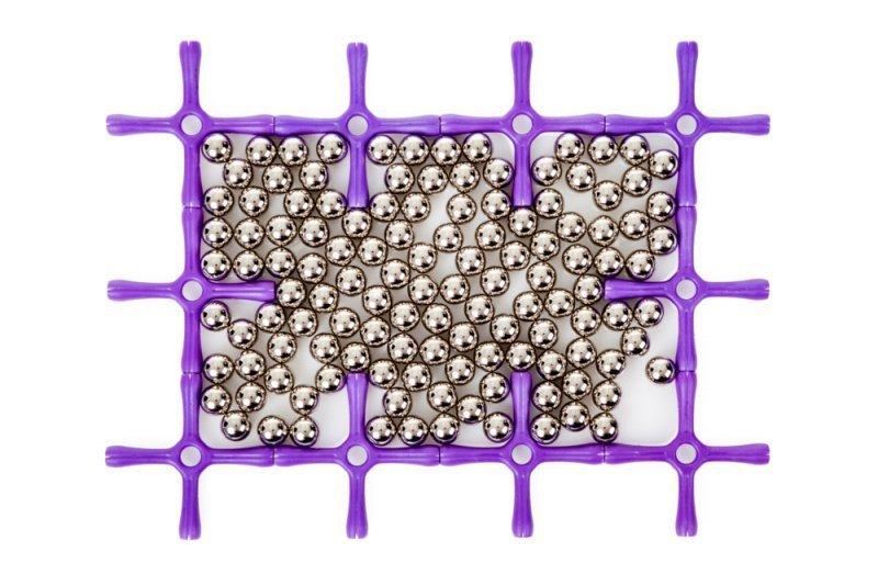 Klocki magnetyczne Konstrukcyjne WITKA Magnet 250 el