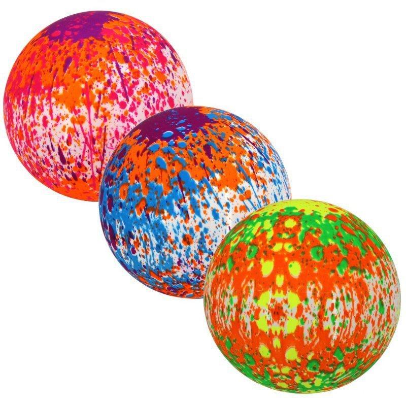 Piłka gumowa dla dzieci kolorowa 15 cm